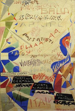 Bozzetto di manifesto per la mostra personale alla Galleria Angelelli, Roma