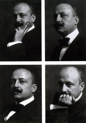 Emilio Sommariva, Ritratto di Marinetti, 1913