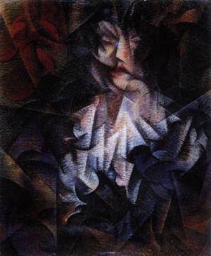 Roberto Marcello Baldessari, Ritratto di donna, 1916 ca.