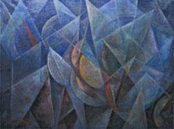 Roberto  Marcello Baldessari,  Dinamismo di forme (forme dinamiche 16°)