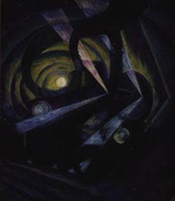 Luigi Russolo, Dinamismo di un treno in corsa nella notte