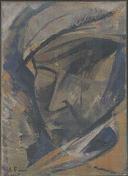 Achille Funi, Ritratto futurista