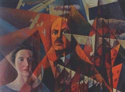 Ritratto della famiglia Marinetti, particolare