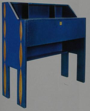 Sécretaire blu