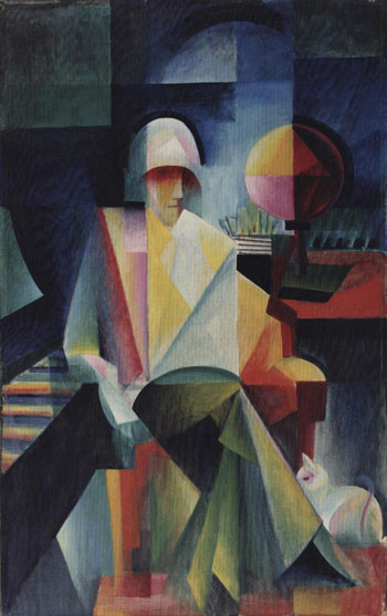 The bach singer, 1916