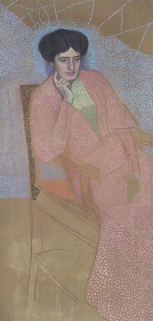 Ritratto di donna seduta