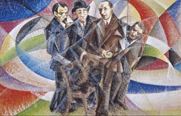 I quattro futuristi