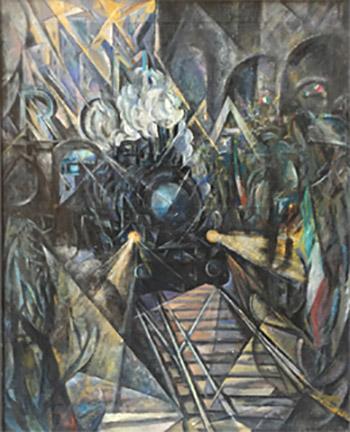 Soldati alla stazione