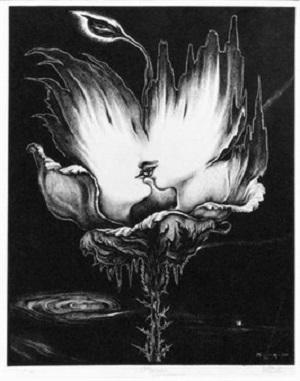 I misteri – amore, Sorgente di fiamma viva