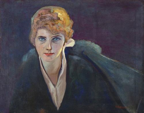 Ritratto di Augusta Popoff