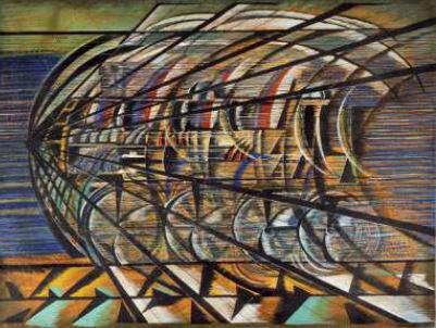 Dinamismo di un treno