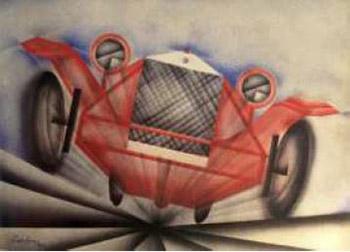 Auto in velocità