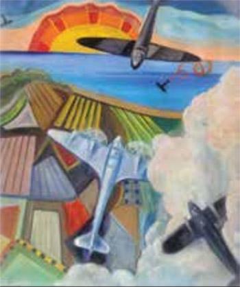 Battaglia aerea su mare-lago