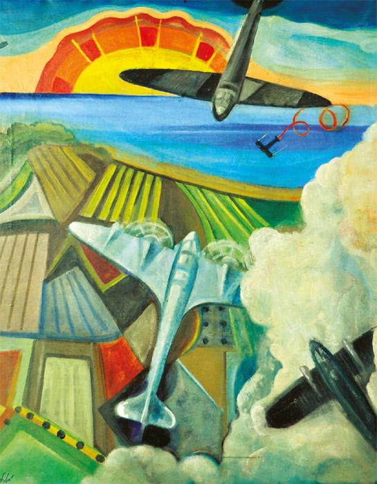 Battaglia aerea su mare - lago
