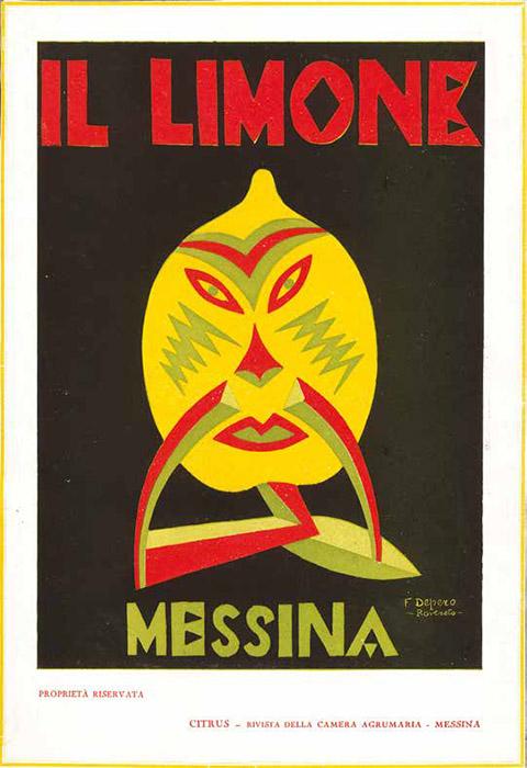 copertine di riviste edite dalla Camera Agrumaria di Messina