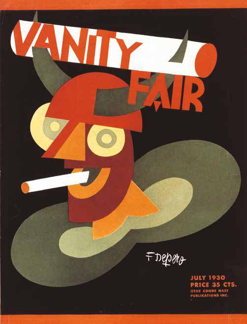 Copertina per la rivista Vanity Fair