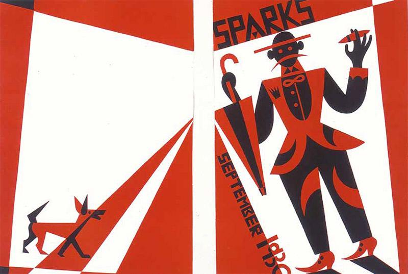 Prima e quarta di copertina per la rivista Sparks