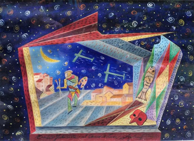 Teatro futurista al chiaro di luna