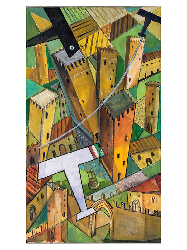 Sorvolando i ricordi San Gimignano