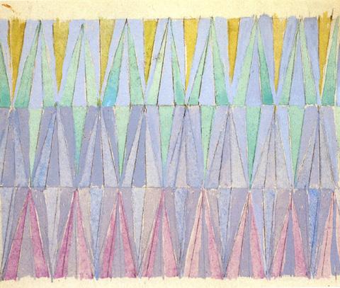 Compenetrazione iridescente - studio