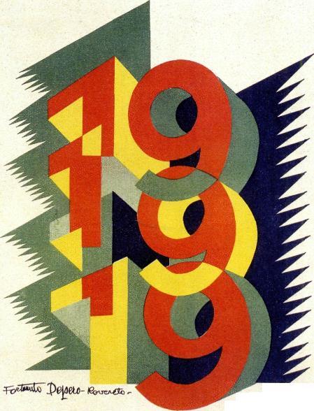 Copertina rivista 1919