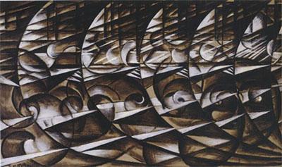 Esposizione italian futurism 1909 1944 reconstructing the for Futur balla
