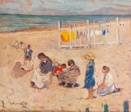 Spiaggia a Viareggio